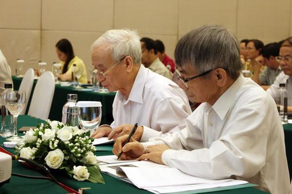 PGS. TS. Nguyễn Võ Kỳ Anh và GS. TS Trần Qụy