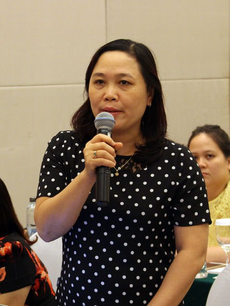 Bà Vũ Thị Kim Hoa, Cục phó cục Bảo vệ Chăm sóc Trẻ em, Bộ Lao động - Thương Binh và Xã hội