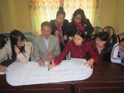 Thực địa công tác đào tạo, tuyên truyền luật Bảo hiểm Y tế tại địa phương