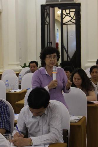 GS. Nguyễn Bạch Ngọc- Trưởng khoa Y tế Công cộng - ĐH Thăng Long