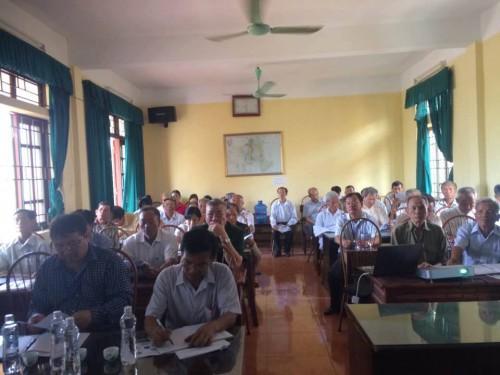 Học viên là Lãnh đạo và các cán bộ ban ngành, đoàn thể tại Xã Thanh Hải