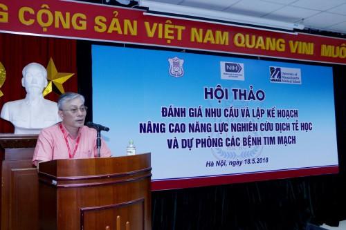 GS.TS. Nguyễn Đức Hinh, Hiệu trưởng ĐHYHN - Chủ trì Hội thảo
