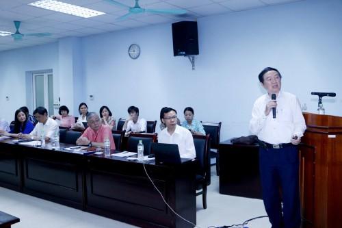 GS.TS. Nguyễn Trần Hiển-Nguyên Viện trưởng Viện VSDT TƯ