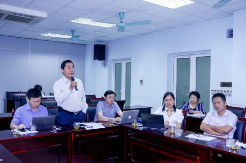 BS. Nguyễn Trọng An, Đại diện Liên minh NCDs-VN phát biểu tại HT