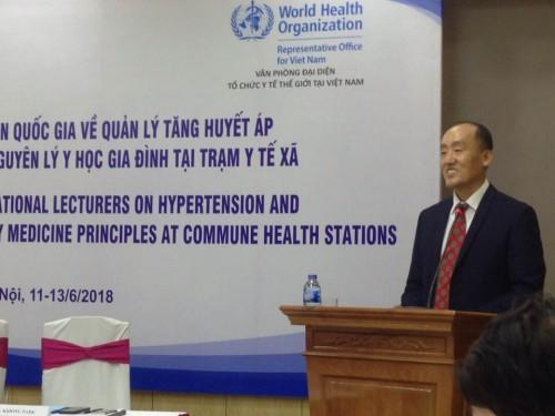 TS. Kidong Park, trưởng Đại diện Tổ chức Y tế thế giới (WHO) tại VN