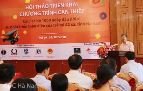 BS. Văn Tất Phẩm, Phó Giám đốc Sở Y tế Hà Nam