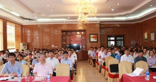 Hơn 100 đại biểu là đại diện của UBND tỉnh, các sở ban ngành và trạm y tế tại 42 xã can thiệp