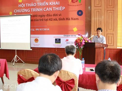 Ths. Nguyễn Thanh Dương – Giám đốc Trung tâm Kiểm soát bệnh tật tỉnh