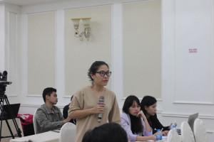 Bà Nguyễn Lương Hiền, đại diện Hội Y tế Công cộng