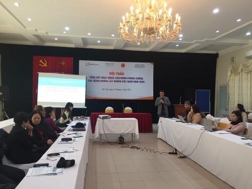 Ông Mai Phan Lợi trình bày định hướng hành động năm 2021 cho Liên minh