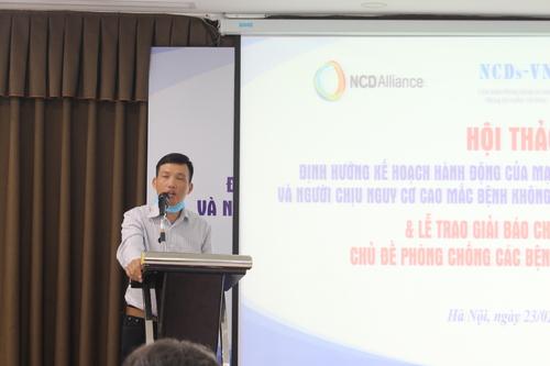 Anh Nguyễn Văn Khương, Đại diện thí sinh được Giải báo chí công dân
