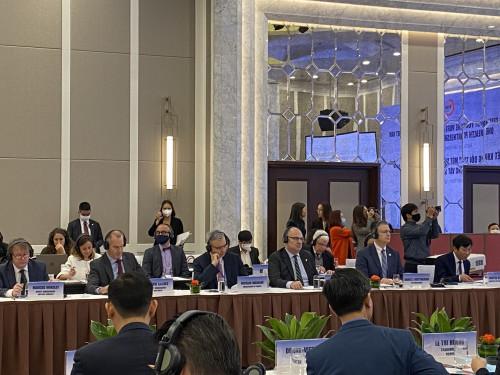 Đại sứ của 7 nước tham dự Khung đối tác Một Sức khỏe