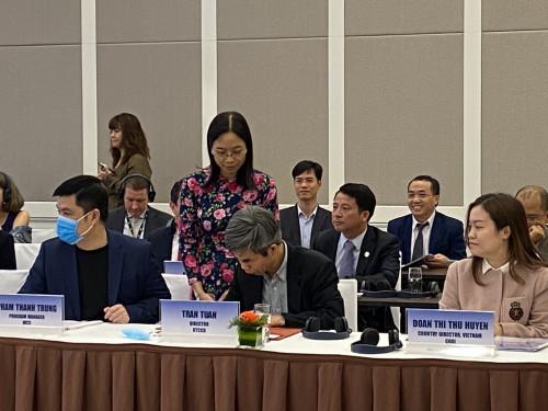 TS.BS. Trần Tuấn, đại diện RTCCD tham gia ký kết khung đối tác Một Sức khỏe