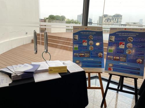 Góc trưng bày của RTCCD tại sự kiện