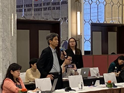 TS.Trần Tuấn phát biểu tại Hội thảo